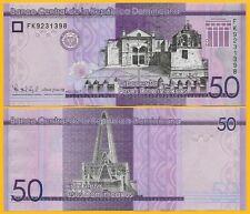 Dominican Republic 50 Pesos Dominicanos p-new 2017(2019) UNC Banknote