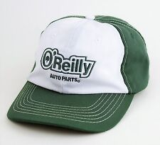O'REILLY Auto Parts Green & White Embroidered Baseball HAT CAP - Size Adjustable