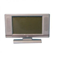 """Dolls House Miniature 1:12th Scale Silver Widescreen 32"""" TV"""
