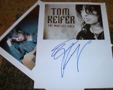 Tom Keifer Autographed Photo & Photos- Real Collectible