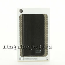 """Hex Icon Wallet Leather Folio Case Cover w/Cards Slot for iPhone 7 4.7"""" Black"""