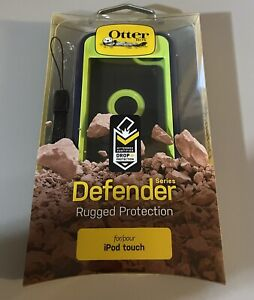 OtterBox Defender Case for Apple iPod Touch 5th Gen -Glow Green And Admiral Blue