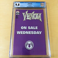 🔥🔥 VENOM #26 WEDNESDAY VARIANT 1st distributed appearance Virus CGC 9.8 🔥🔥