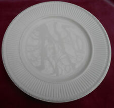 "WEDGWOOD EDME OFF WHITE DINNER PLATE 10 1/2"" OLD MARK CREAM RARE"