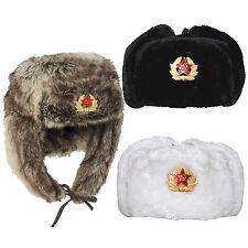 CHAPKA RUSSE FOURRURE