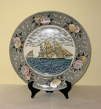 Adams China  DECORATIVE PLATE  -  FGC Currier - Clipper Ship Sweepstakes  10.5in