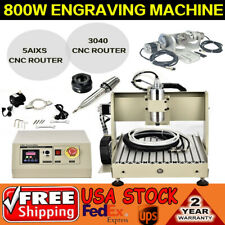 5axis Router Cnc Engraving Machine 3040 Spindle Motor Engraver 5axis Controller