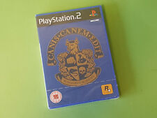 Canis canem edit Sony Playstation 2 PS2 Juego-Rockstar Games * Nuevo y Sellado *