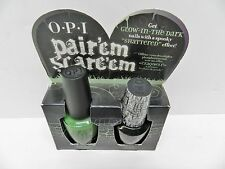 OPI Zom-Body To Love, Black Shatter Nail Polish Pair Em Scare Em Set
