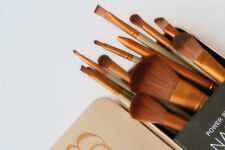 Brand New - UD N3 12 Piece Makeup Brush Set with Metal Case