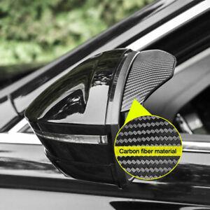 2× Car Rear View Side Mirror Rain Board Eyebrow Guard Sun Visor Accessories