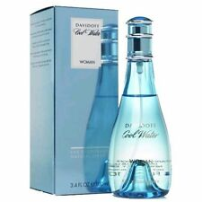 Cool Water Perfume by Davidoff, 3.3 oz Deodorant Spray for Women NEW