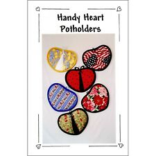 "CLASSIC CRAFTS ""HANDY HEART POTHOLDERS"" Sewing Pattern"