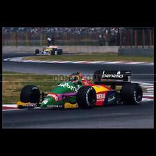 Photo A.005313 BENETTON B187 1987 THIERRY BOUTSEN F1 GRAND PRIX