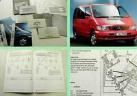 Mercedes Benz Vito Mappe Bedienungsanleitung Vorteile Wartungsheft Produktinfo