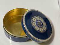 Art Deco Norway J.Tostrup Solid Silver & Guilloche Enamel Jewellery Box 129g