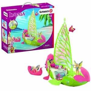 Schleich Bayala Sera's Magical Flower Boat - Flying Squirrel & Sea Unicorn Foal