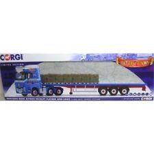 Camions de livraison miniatures bleu en plastique