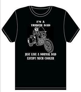 BIKER DAD- BIKER T shirt Biker Gift-**TRIKER