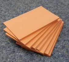 "8 Pads of 40 sheets 3 x 5"" Salmon Color Scratch / Note Pads"