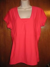 OLD NAVY ACTIVE Ladies' Large ATHLETIC SHIRT/TOP (pink; polyester/spandex) EUC