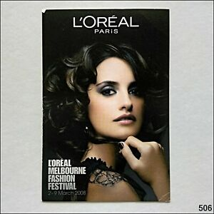 Avant Card #12354 L'Oreal Melbourne Fashion Festival 2008 Postcard (B) (P506)