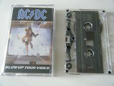 AC/DC BLOW UP YOUR VIDEO CASSETTE TAPE ATLANTIC 1988