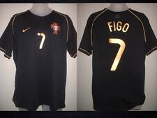 Portugal Luis Figo, Adulto Xl Real Madrid Nike Away Shirt Camiseta De Fútbol Soccer