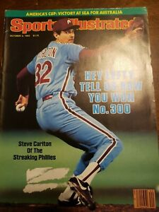 Sports Illustrated - Steve Carlton - October 3, 1983 -(M20A)