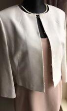 LK Bennett Amole Cream Jacket Size 16 US12 £245 BNWT Evening Bolero Blazer