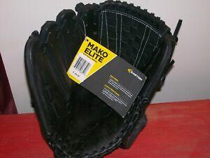 "Easton Mako Elite Series Softball Glove 13"" MKESP1250 Black"