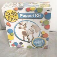 Crafty Kids Puppet Kit Horse Paul Lamond NEW SEALED