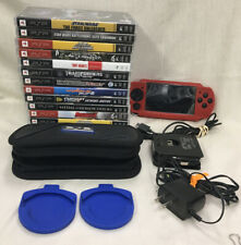 Sony PSP-2001 Bundle W/ 13 Games And Other Accessories READ Details
