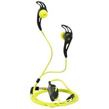 Sennheiser Adidas MX 680 Sport High Performance Earphones Black/Yellow in Box UK