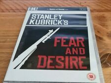 Stanley Kubrick's Fear And Desire - Masters Of Cinema  DVD LIKE NEW NEVER PLAYED