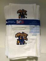 Kentucky Wildcats University 3pc College Bath Towel Set by Northwest Co.