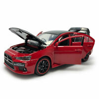 Mitsubishi Lancer Evo X 1:32 Model Car Diecast Toy Collection Kids Gift Red