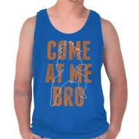 Come At Me Bro Funny Anime TV Show Goku Gift Adult Tank Top Sleeveless T-Shirt
