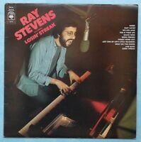 RAY STEVENS ~ FEATURING: LOSIN' STREAK ~ 1973 UK 11-TRACK VINYL LP RECORD