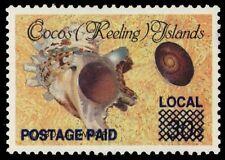 "COCOS ISLANDS 225 (SG235) - ""Turbo lajonkairii"" Provisional (pa53273)"