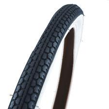 FISCHER Fahrradreifen 26 x 1,75 Straße schwarz/weiß #60018