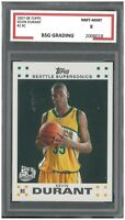 KEVIN DURANT #2 ~ 2007-08 Topps Rookie ~ BSG 8