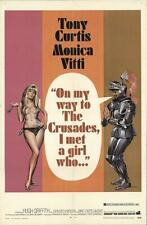 16mm Feature: ON MY WAY TO THE CRUSADES I MET A GIRL WHO (LETTERBOX) TONY CURTIS