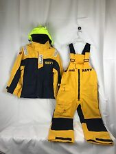 2 PC Musto Performance Sailing Yachting Foul Weather Jacket Overalls Trousers SM