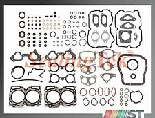 Fit 04-06 Subaru EJ255 EJ257 Turbo DOHC Engine Full Gasket Set w/ oil pan gasket