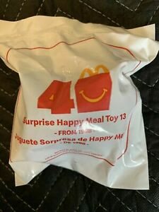 McDonalds 40th Anniversary Mystery 2019 Happy Meal Toy #13 (Toy Furby) Suprise