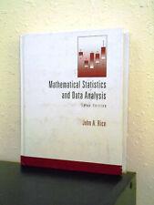 Mathematical Statistics and Data Analysis, 3rd ed., John Rice ISBN 0534399428