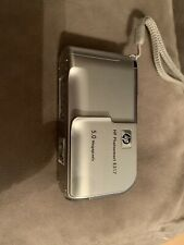 HP PhotoSmart E317 5.0MP Digital Camera - Silver