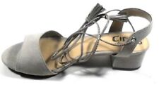"""Circus by Sam Edelman """"Isabel"""" Women's Greige Fabric Lace Up Slingback Sandal 8M"""
