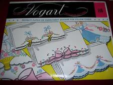VINTAGE VOGART #146- NOVELTY FLORAL - SOUTHERN BELLE HOT IRON TRANSFER PATTERNuc